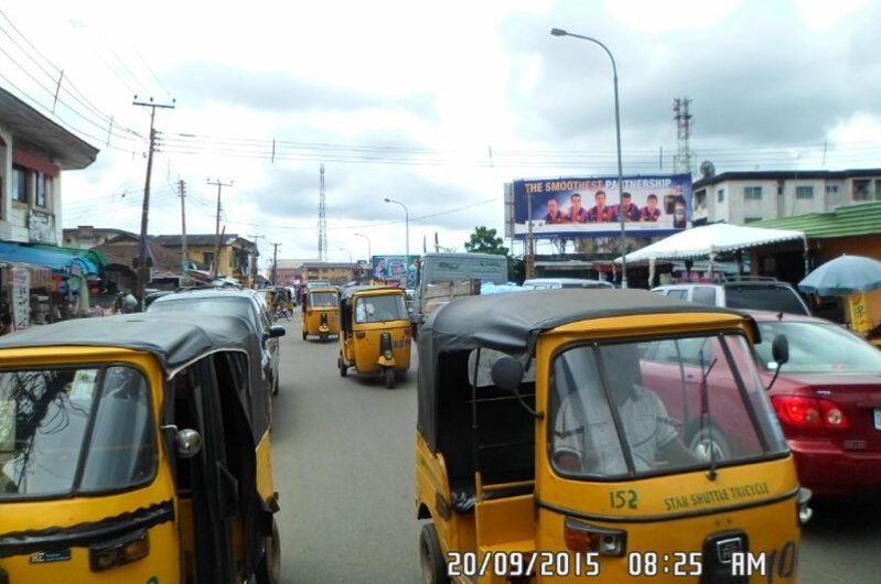 ALONG TETLOW ROAD BY MBAISE JUNCTION FTT TIMBER MARKET