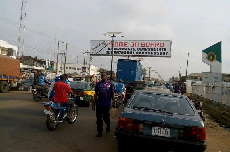 ILORIN- GENERAL SURULERE ROAD BY OJA OBA/FCMB/NNPC FILLING STATION FTF  AIRPORT