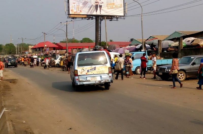 ONITSHA – ALONG ONITSHA/ENUGU EXPRESS ROAD AFTER HEAD BRIDGE FTF LAGOS