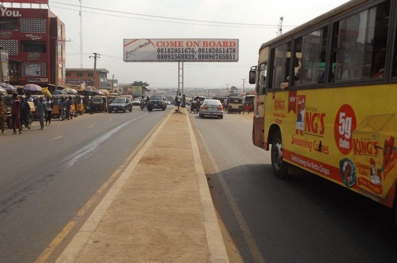 IBADAN-ALONG ORITA CHALLENGE ROAD BY ADELABU MARKET FTF NEW GARAGE