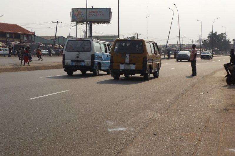 ALONG ONITSHA/ENUGU EXPRESS ROAD BEFORE HEAD BRIDGE FTF TOWN